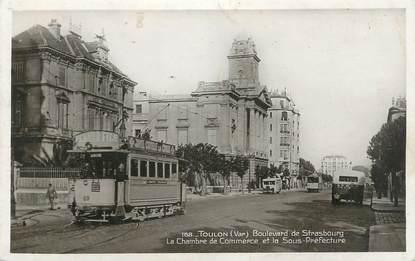 """CPSM FRANCE 83 """" Toulon, Boulevard de Strasbourg"""""""
