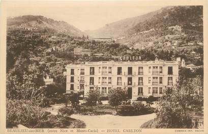 "CPA FRANCE 06 "" Beaulieu sur Mer, Hôtel Carlton"""