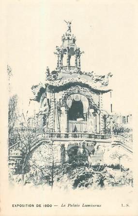 """CPA FRANCE 75 """"Paris, Exposition de 1900, Le Palais lumineux"""""""