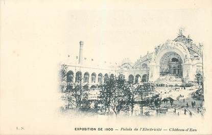 "CPA FRANCE 75 ""Paris, Exposition de 1900, Palais de l'Electricité"""