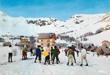 """CPSM FRANCE 73 """"Saint Sorlin d'Arves, Les Hotels, Col de la Croix"""" / SKI"""