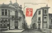 """38 Isere CPA FRANCE 38 """" Beaurepaire, Ecole communale de filles et rue Gambetta"""""""