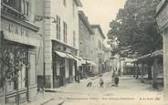 "38 Isere CPA FRANCE 38 "" Beaurepaire, Rue Deluzy Dufeillant"""