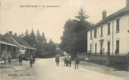 """CPA FRANCE 38 """" Beaurepaire, La gendarmerie"""""""