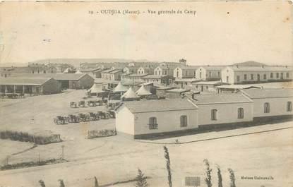 "CPA MAROC ""Oudjda, vue générale du camp"""