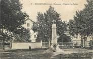 """38 Isere CPA FRANCE 38 """" Beaurepaire, Le monument aux morts"""""""