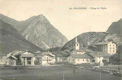 """CPA FRANCE 73 """"Pralognan la Vanoise, village et Eglise"""""""