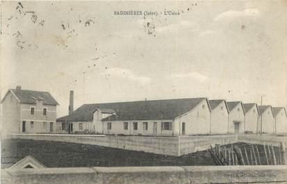 "CPA FRANCE 38 "" Badinières, L'usine"""