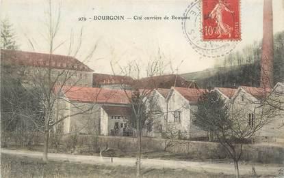 """CPA FRANCE 38 """" Bourgoin, Cité ouvrière de Boussieu"""""""