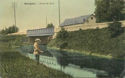 "CPA FRANCE 38 "" Bourgoin, Pont de Ruy"""