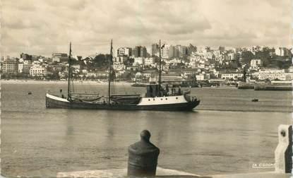 """CPSM MAROC """"Tanger, le port et la ville"""""""