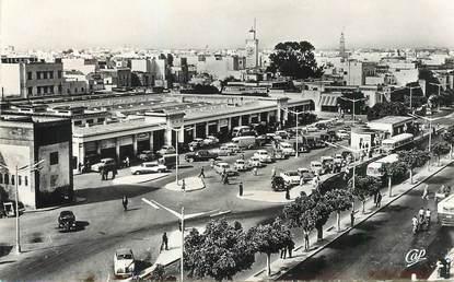 """CPSM MAROC """"Rabat, le marché"""""""
