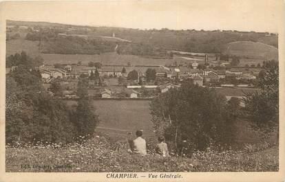 """CPA FRANCE 38 """"Champier, Vue générale"""""""