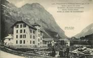 """73 Savoie CPA FRANCE 73 """"Pralognan la Vanoise, la poste et Hôtel du Dôme de Chasseforêt"""""""