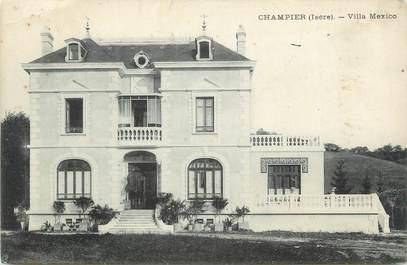 """CPA FRANCE 38 """" Champier, Villa Mexico"""""""