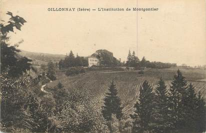 """CPA FRANCE 38 """" Gillonnay, L'Institution de Montgontier"""""""