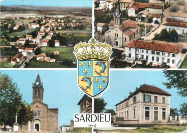 """CPSM FRANCE 38 """" Sardieu"""""""