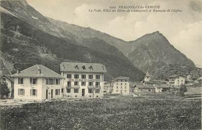 """CPA FRANCE 73 """"Pralognan la Vanoise, Hôtel du Dôme de Chasseforêt"""""""
