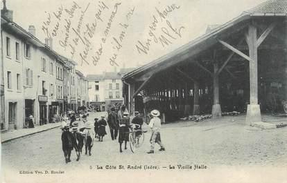 """CPA FRANCE 38 """" La Côte St André, La vieille halle"""""""