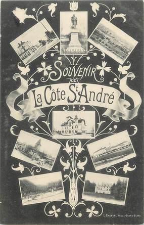 """CPA FRANCE 38 """" La Côte St André, Vues"""""""