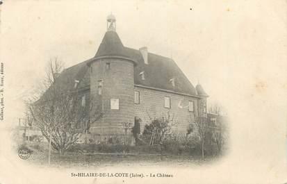 """CPA FRANCE 38 """" St Hilaire de la Côte, Le château"""""""