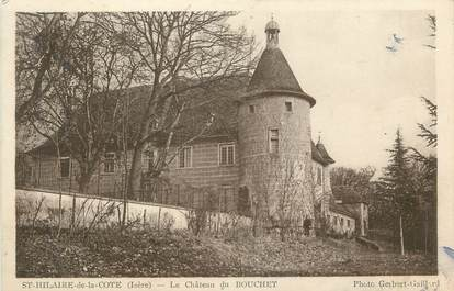 """CPA FRANCE 38 """" St Hilaire de la Côte, Le château du Bouchet"""""""