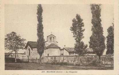 "CPA FRANCE 38 ""Miange, La chapelle"""