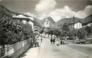 """73 Savoie CPSM FRANCE 73 """"Pralognan la Vanoise, le village et la pointe de Villeneuve"""""""