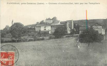 """CPA FRANCE 38 """" Panossas, Le château d'Anthouillet"""""""