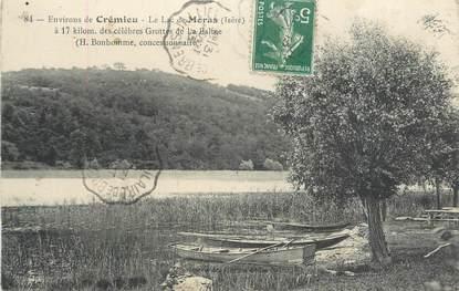 "CPA FRANCE 38 "" Moras, Le lac"""