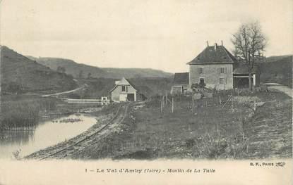 """CPA FRANCE 38 """" Hières, Le Val d'Amby Moulin de la Tulle"""""""