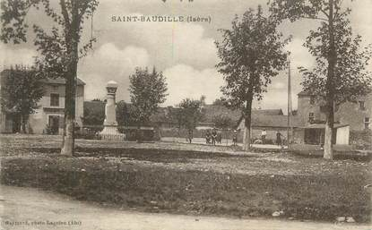 """CPA FRANCE 38 """" St Baudille"""""""