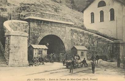 """CPA FRANCE 73 """"Modane, entrée du Tunnel du Mont Cenis"""""""