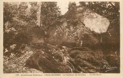 """CPA GUADELOUPE """"Trois Rivières, le tombeau des Caraïbes"""""""