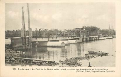 """CPA GUADELOUPE """"Le Pont de la Rivière salée"""""""