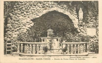 """CPA GUADELOUPE """"Basse Terre, Grotte de Notre Dame de Lourdes"""""""
