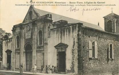 "CPA GUADELOUPE ""Basse Terre, Eglise du Carmel"""