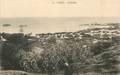 """CPA TAHITI """"Papeete"""""""