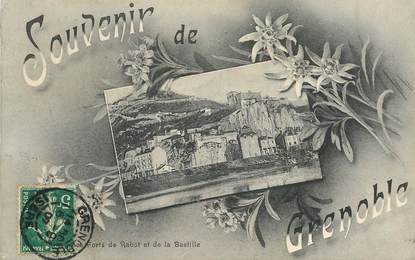 """CPA  FRANCE 38 """"Souvenir de Grenoble"""""""
