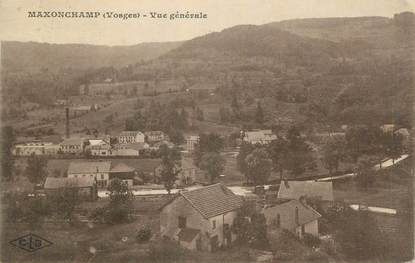 """CPA FRANCE 88 """"Maxonchamp, Vue générale"""""""
