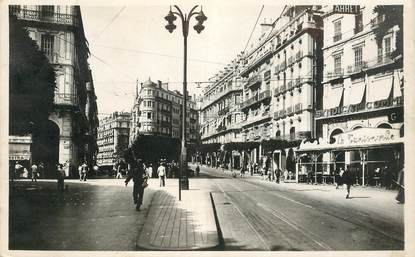 "CPSM ALGERIE ""Alger, carrefour Bresson"""