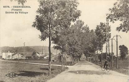 """CPA FRANCE 88 """" Cheniménil, Entrée du village"""""""
