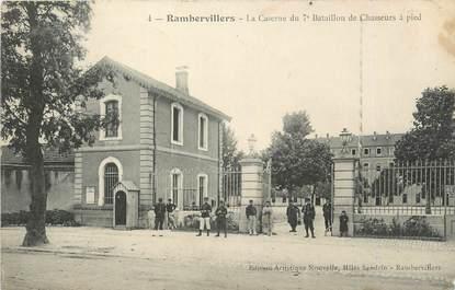 """CPA FRANCE 88 """"Rambervillers, La caserne du 7ème bataillon de chasseurs à pied"""""""