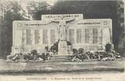 """88 Vosge CPA FRANCE 88 """"Rambervillers, Le monument aux morts du cimetière"""""""