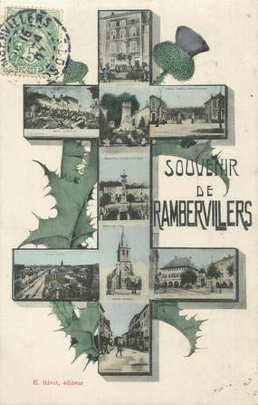"""CPA FRANCE 88 """"Rambervillers, Vues"""""""