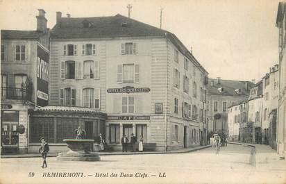 """CPA FRANCE 88 """"Remiremont, Hôtel des deux Clefs"""""""