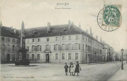 """CPA FRANCE 88 """"St Dié, Place Stanislas"""""""