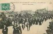 """62 Pa De Calai CPA  FRANCE 62 """"Calais, Funérailles des victimes du Pluviose du 26 mai 1910, défilé de la magistrature"""""""