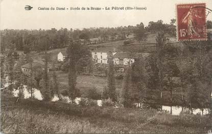 """CPA FRANCE 87 """" Le Pétrot, Bords de la Brame"""""""