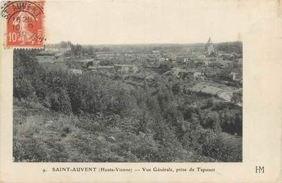 """CPA FRANCE 87 """" St Auvent, Vue générale prise de Taponnet"""""""